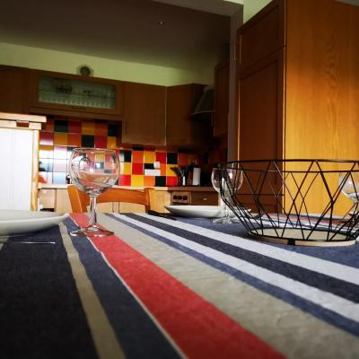 salle à manger/cuisine Gite de Lapierre